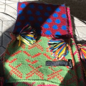 ZARA KNITTED ARTISANAL MEXICAN SCARF